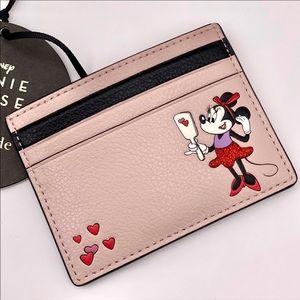 Disney x Kate Spade Minnie Small Slim Cardholder